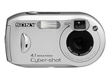 Sell sony cyber-shot dsc-p43 digital camera at uSell.com